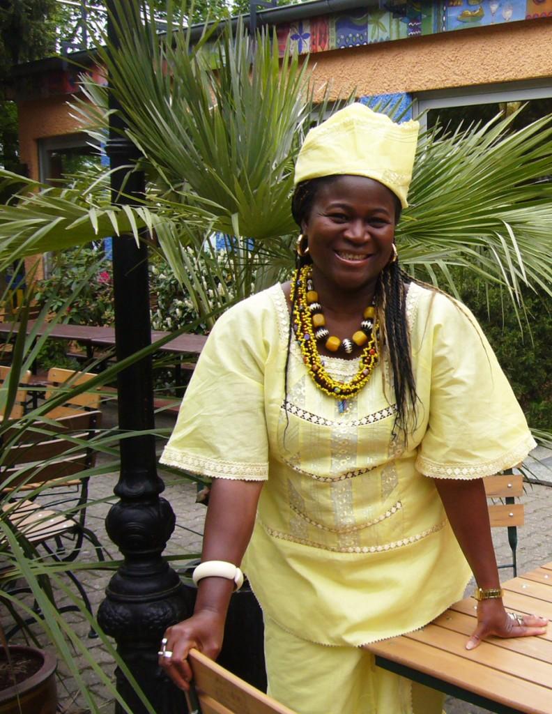 Die Gastgeberin Bridget Robinson-Kuba