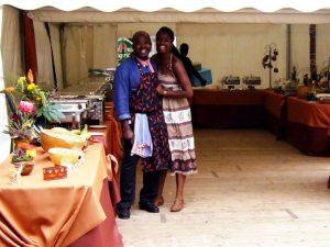 Buffet von Adas Buka, Catering